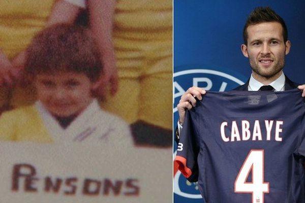 Yohan Cabaye, de l'US Tourcoing de ses débuts au Paris Saint-Germain.