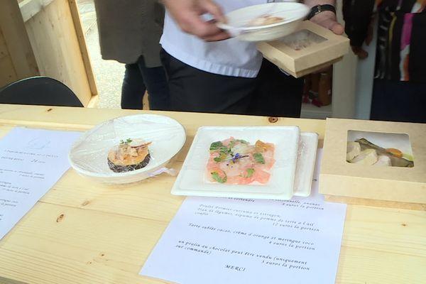 Ceviche de cabillaud, blanquette de veau et tarte au chocolat et orange sanguine, un menu gastronomique complet pour 24 euros