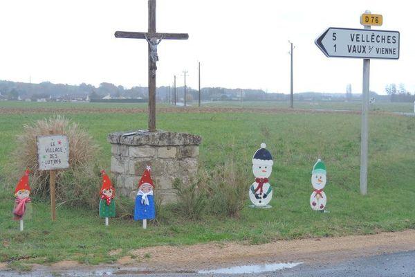 Vaux-sur-Vienne et ses 580 habitants se parent des couleurs de Noël