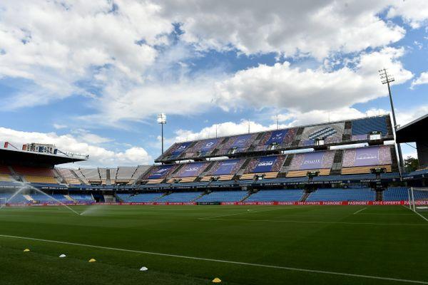 Le stade de la Mosson en mai 2021.