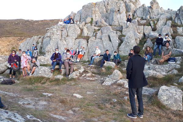 Balade contée dans le Cap Sizun avec Lukaz Nedeleg