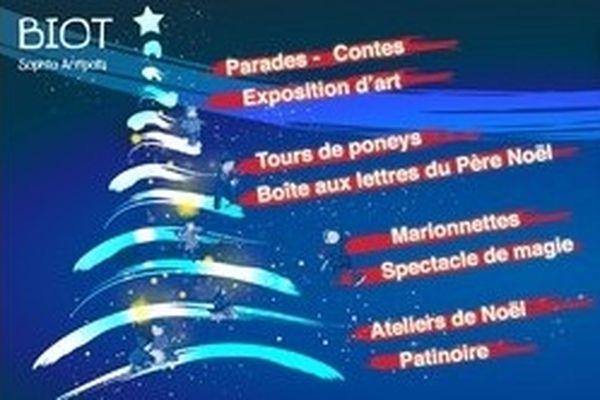 Du samedi 22 décembre au dimanche 6 janvier inclus, la patinoire écologique de 80 m² revient sur la Place de Gaulle pour 15 jours de glisse au coeur du centre historique de Biot, tous les jours de 10h à 17h sans interruption (sauf le 1er janvier).  De véritables « chutes de neige » sont prévues les samedi 22, dimanche 23 et lundi 24 décembre 2012.  Plus d'infos : 04 93 65 78 00 http://bit.ly/TFiamP