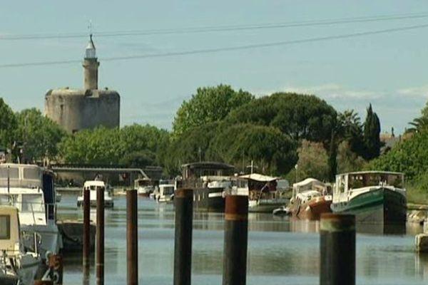Bateaux à Aigues-Mortes (30)