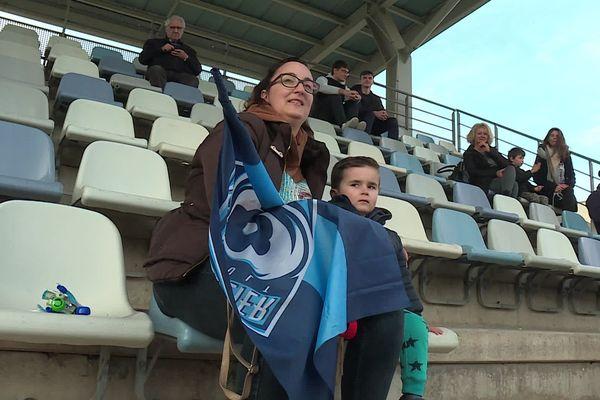 Montpellier - l'entraînement ouvert au public permet aux supporters du MHR de se retrouver en famille - 10 février 2020.