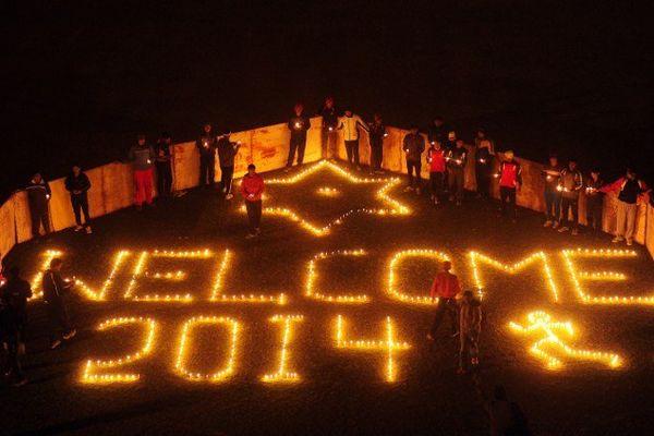 En Inde, on a déjà célébré le passage à la nouvelle année.