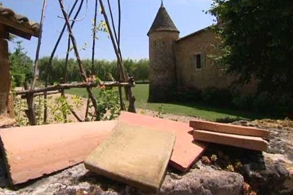 La tuilerie artisanale est installée à Oingt à une quarantaine de kilomètres de Lyon- Le 5 août 2013