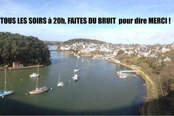 """La photo de une de la page Facebook créée par """"Le Bono vous remercie""""."""