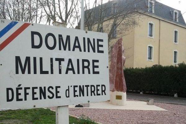 L' entrée du 3e RPIMa de Carcassonne
