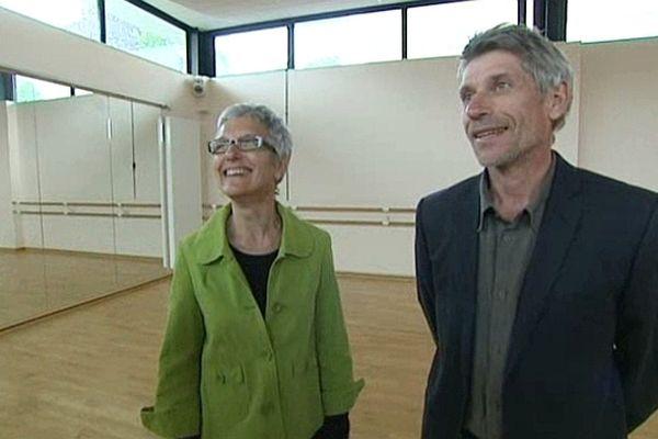 Jacques Gamblin et Catherine Gamblin-Lefèvre, Falaise le 14 mai 2013