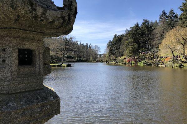 l'étang du parc