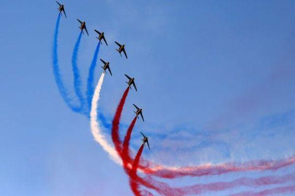 La Patrouille de France en pleine action