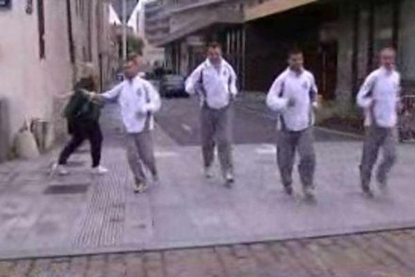 Ces 4 athlètes (deux Israëliens, deux Palestiniens) vont participer au Marathon de Metz Mirabelle.