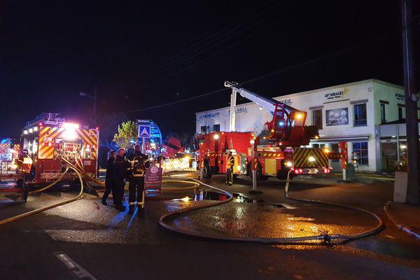 Un incendie s'est déclaré dans les locaux techniques d'une boulangerie au Pouliguen, ce vendredi 20 août.