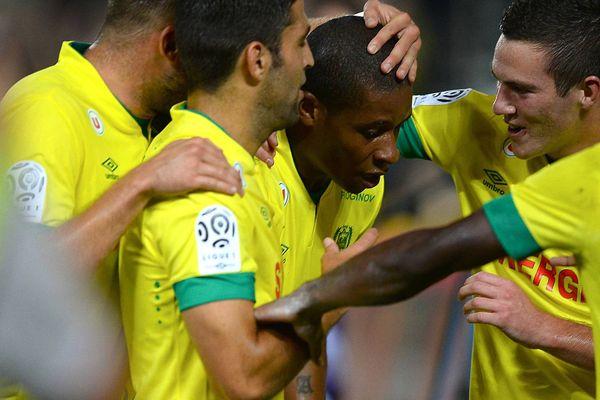 La joie du FC Nantes ici face à Reims.