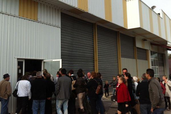 Plusieurs centaines de personnes se sont rendues au magasin d'usine de Smoby pour faire leurs emplettes de Noël.