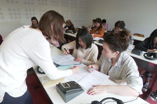 Les 500 étudiants chinois de l'Université Paul Valéry à Montpellier sont l'objet d'une attention particulière par rapport au coronavirus.