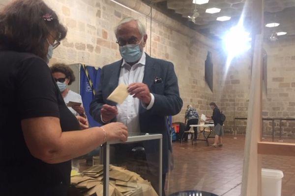 Municipales 2020 : vote de Martin Malvy au bureau Balène, l'ancien président de l'ex-Région Midi-Pyrénées