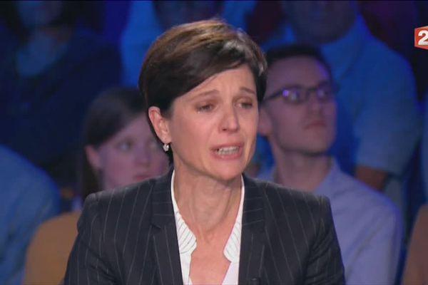 Sandrine Rousseau a fini l'émission On n'est pas couché au bord des larmes hier soir