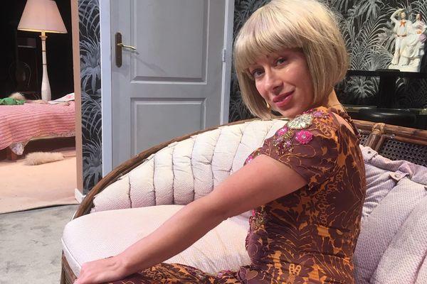 La comédienne Diana Laszlo est Kimberley