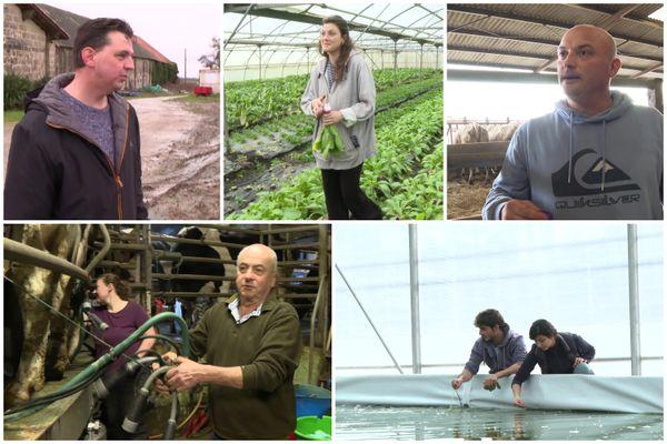 Ces agriculteurs et ces agricultrices ont choisi leur métier par passion et ont fait le choix de s'installer près de Bordeaux.