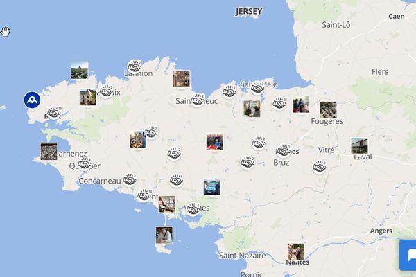 Une carte interactive et collaborative : vous pouvez y rajouter vos bonnes adresses ou votre association