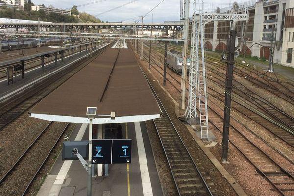 Gare de Poitiers.