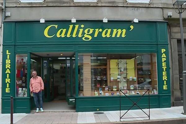 Calligram's, seule librairie indépendante de Mazamet, est un véritable institution locale