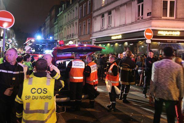 L'accident rue Massena l'an dernier avait fait 23 blessés l'année dernière en marge de la Braderie.