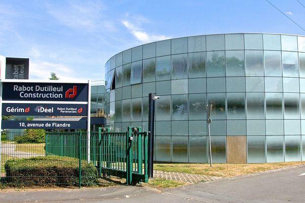 Le siège de Rabot-Dutilleul à Lille. Le groupe de BTP emploie 1500 personnes en France.