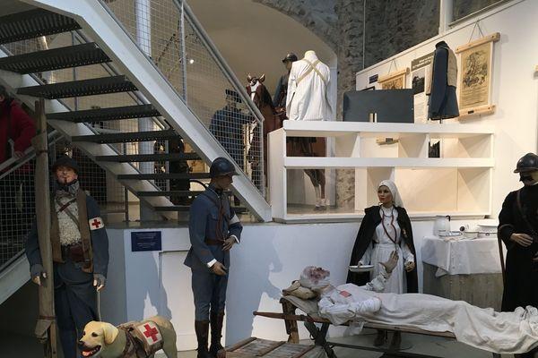 Jusqu'au 13 novembre, cette exposition retrace le parcours du 159ème RIA de Briançon lors de la Grande Guerre et précise notamment le rôle prépondérant des animaux.