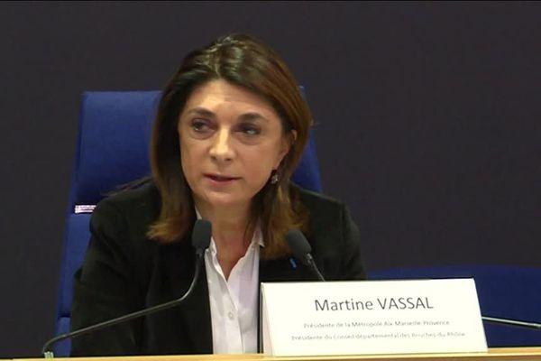 Martine Vassal, Pdt de la Métropole Aix-Marseille-Provence
