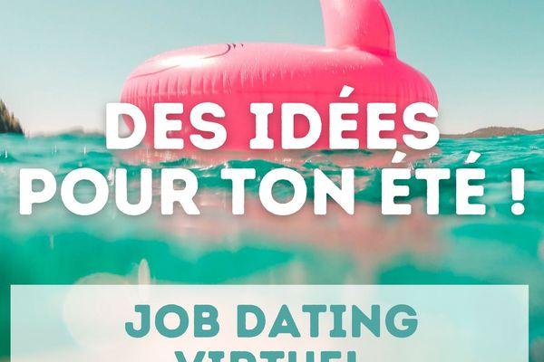 Job dating virtuel le 1er avril de 14h à 20h. Plus d'infos sur cutt.ly/IDT21
