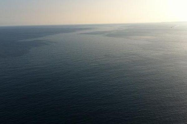 La pollution observée vendredi par l'hélicoptère de la Sécurité Civile de Haute-Corse