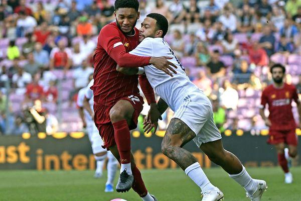"""""""Il nous reste une semaine pour être prêt"""", a expliqué l'entraîneur, après la défaite de l'OL face à Liverpool 3-1, en match amical, ce mercredi 31 juillet."""