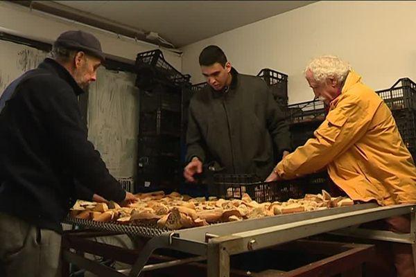 """L'association """"Le pain de l'espoir"""" a présenté officiellement ses nouveaux locaux ce jeudi - 22 février"""