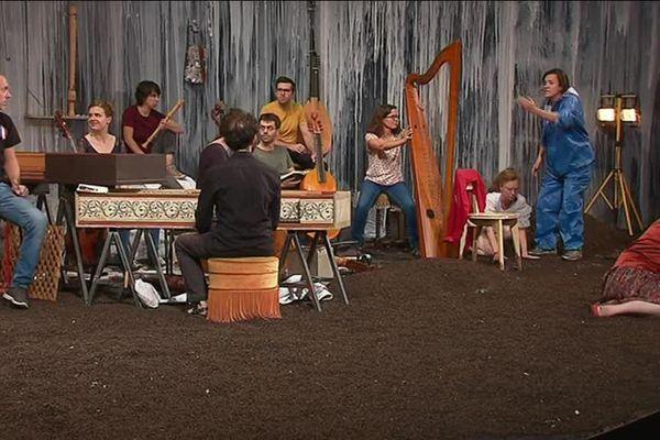 """""""Songs"""", le répertoire baroque sur la scène du théâtre de la Croix-Rousse"""