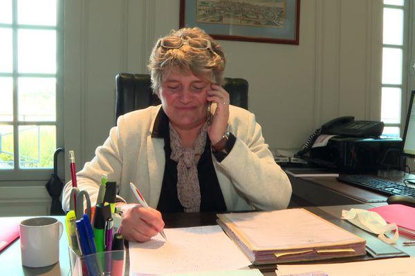 """Virginie Laval souhaite partager sa mandature grâce à une """"concertation"""" avec tous les acteurs de l'université."""