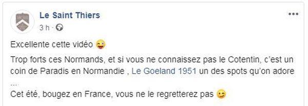 Des restaurateurs de toute la France ont commenté l'humour de l'équipe du Goéland 1951.