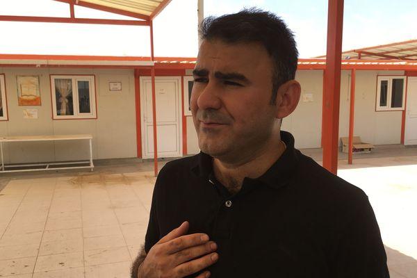 Neha,  directeur de l'école Sainte Irénée d'Erbil