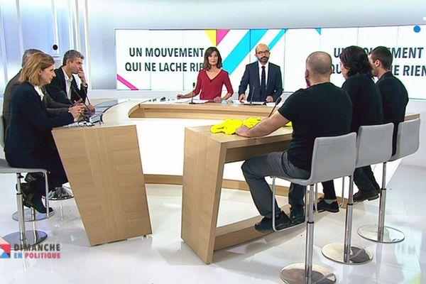 """Dimanche en politique spéciale """"gilets jaunes"""" le 9 décembre 2018."""