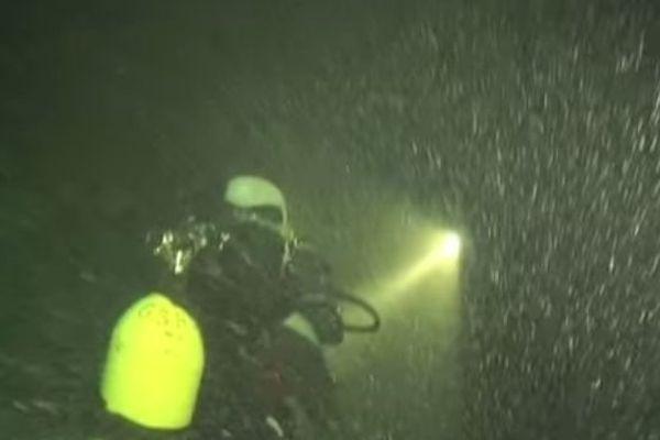 Plongée en eau profonde dans le Lac du Bourget.