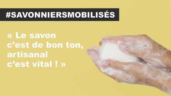 La campagne des savonniers sur les réseaux sociaux.