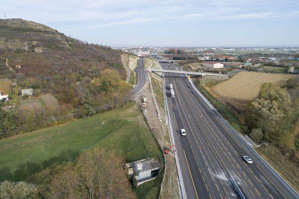 Si le  planning est respecté, la fin des travaux de l'A75 au sud de Clermont-Ferrand est prévue pour septembre 2021.
