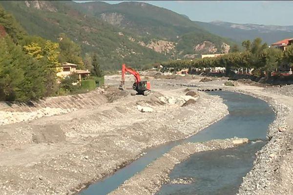 Digne : des travaux sur la Bléone pour prévenir les risques d'inondation