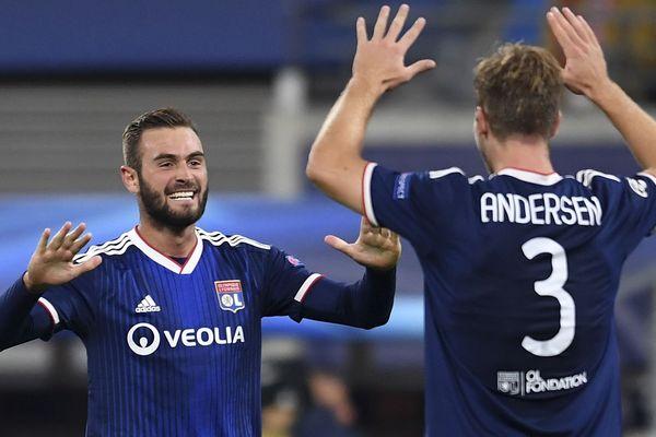 Lucas Tousart et Joachim Andersen, soulagés de briser la série noire de 7 matches sans victoire