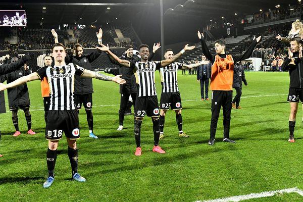 Angers SCO s'impose à domicile (1-0) contre Montpellier, le 22 février 2020