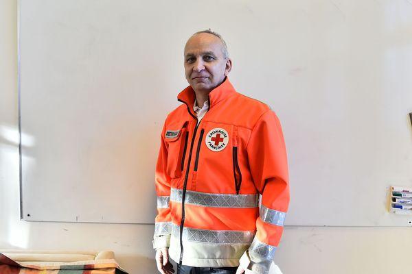Christophe Talmet, ancien cadre et formateur de la cellule de gestion de Crise à la Croix-Rouge, est directeur adjoint des opérations en Côte-d'Or