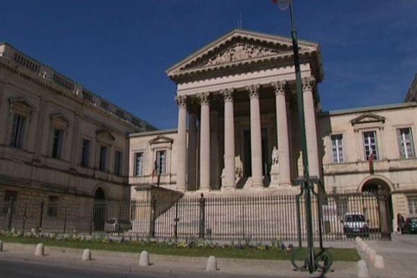 Palais de justice de Montpellier - Cour d'assises  et Cour d'appel - archives