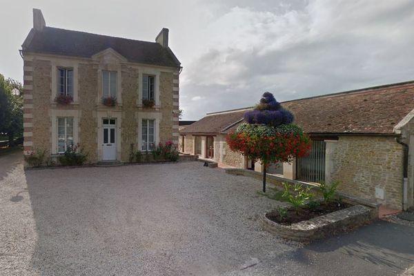 La mairie de Moult, dans le Calvados