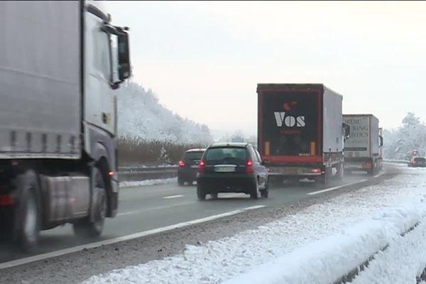De nouvelles chutes de neige devrait impacter la circulation au nord de la région.
